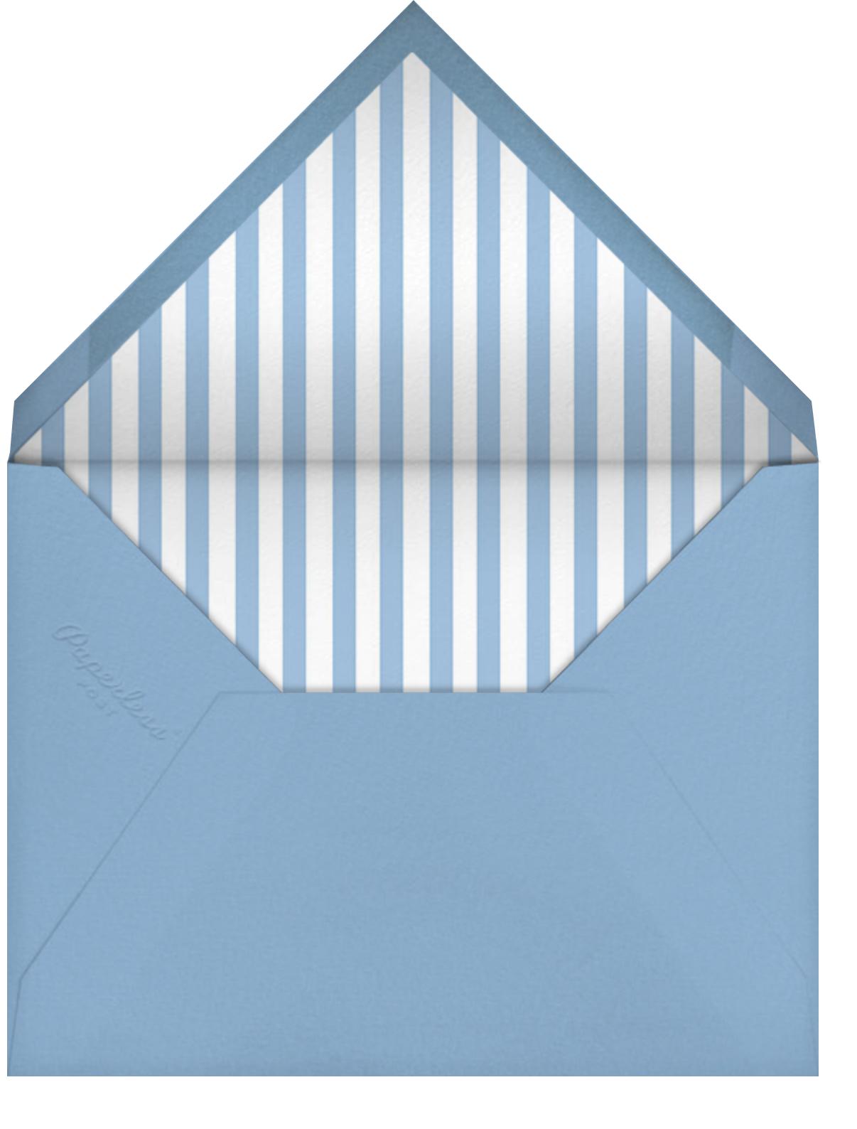 A Little Lost Sailboat - Mr. Boddington's Studio - Father's Day - envelope back