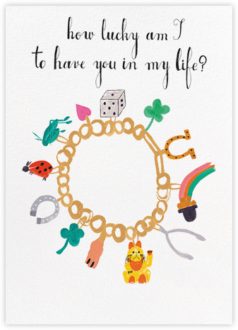 Charm Bracelet - Mr. Boddington's Studio - Just Because Cards