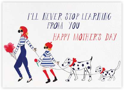 French Mommy - Fair - Mr. Boddington's Studio - Mother's Day Cards