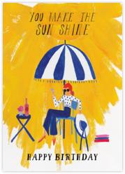 Sunshine - Mr. Boddington's Studio - Online greeting cards