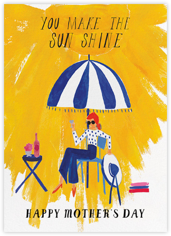 Sunshine - Mr. Boddington's Studio - Mother's day cards