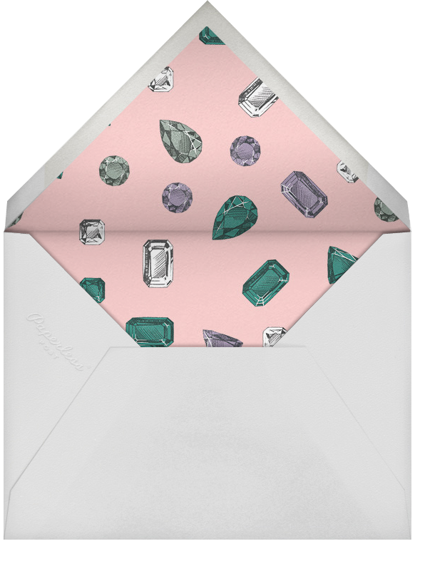 Crown Jewels - Paperless Post - Adult birthday - envelope back