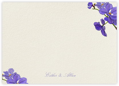 Moth Orchid (Stationery) - Felix Doolittle - Personalized stationery