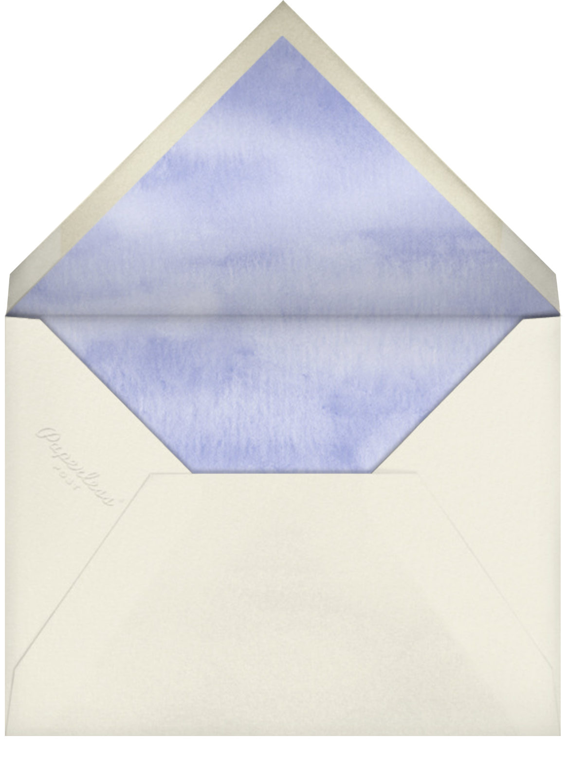 Moth Orchid (Stationery) - Felix Doolittle - Personalized stationery - envelope back