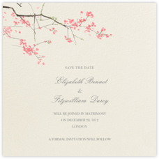 Japanese Cherry (Save the Date)
