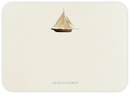 Wooden Sailboat - Felix Doolittle -