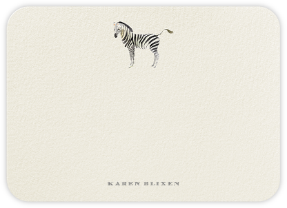 Kalahari - Felix Doolittle - Personalized stationery