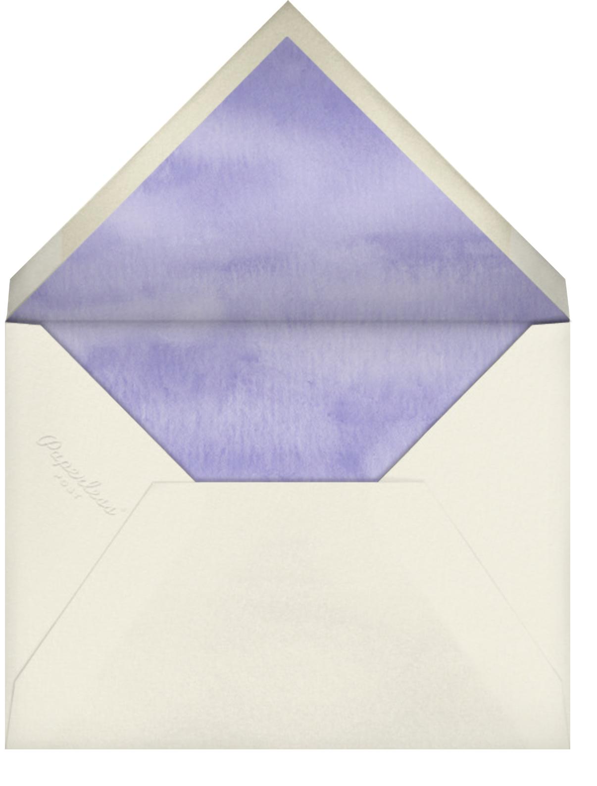 Kitchen Bouquet (Stationery) - Felix Doolittle - Personalized stationery - envelope back