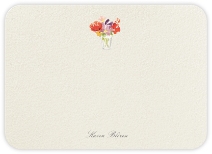 Kitchen Bouquet (Stationery) - Felix Doolittle - Personalized Stationery