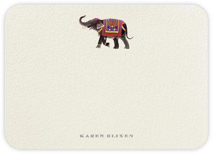 Jaipur  - Felix Doolittle - Personalized Stationery