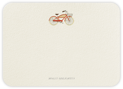 Dutch Ride - Felix Doolittle - Personalized Stationery