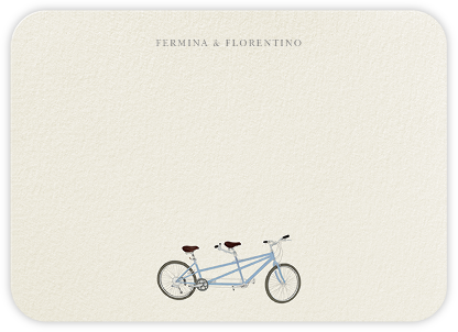 Built for Two - Felix Doolittle - Personalized Stationery