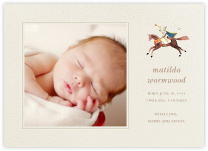 Trumpeter - Felix Doolittle - Birth Announcements