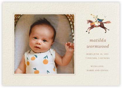 Trumpeter - Felix Doolittle - Birth Announcements