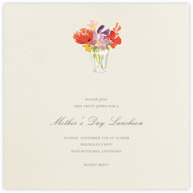 Kitchen Bouquet - Felix Doolittle - Online Mother's Day invitations