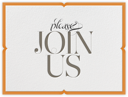 Please Join Us  - bluepoolroad - Fall Entertaining Invitations