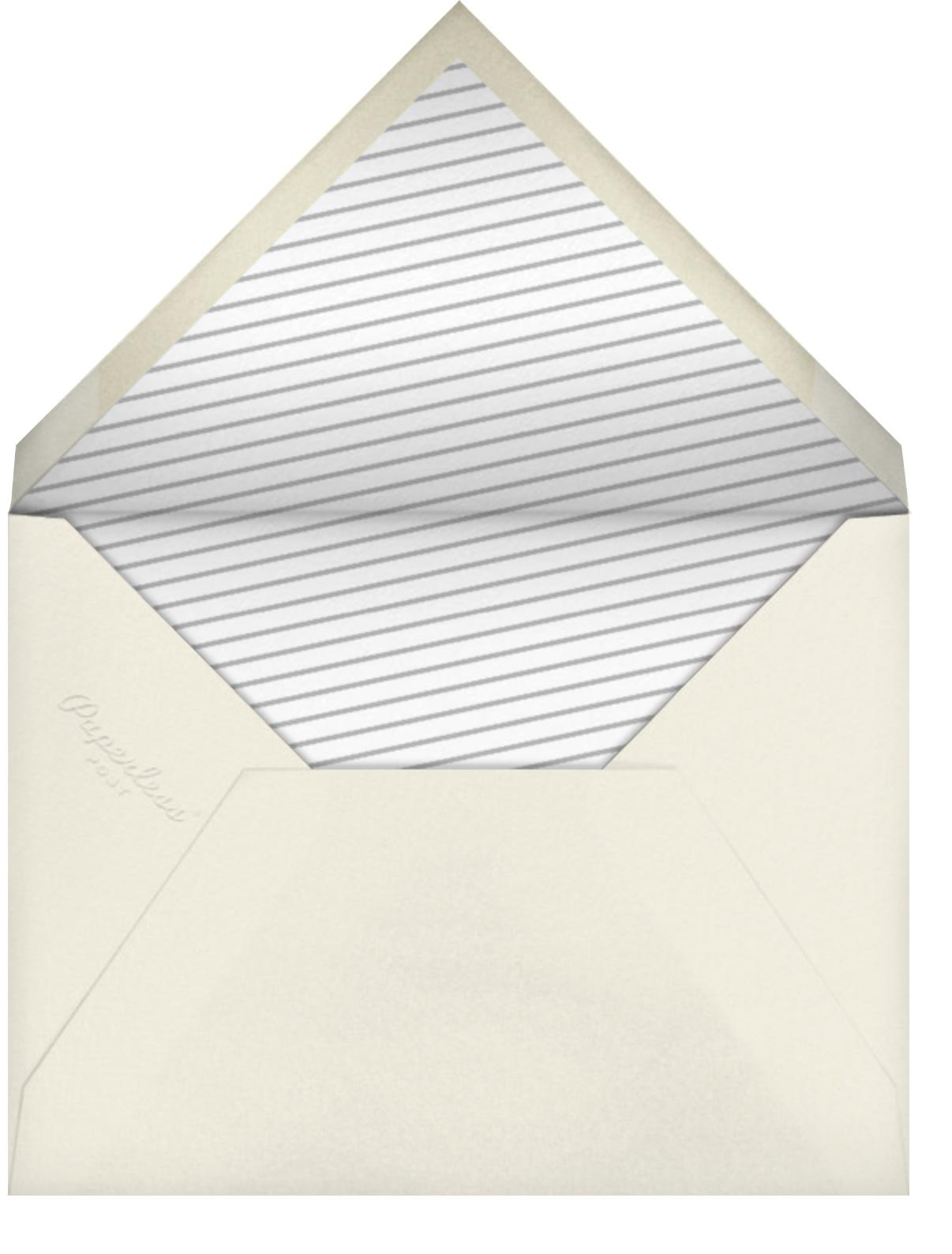 Champagne Bottle - Paperless Post - Adult birthday - envelope back