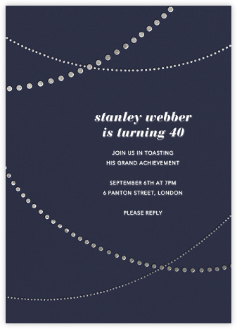 Pearl Bunting - Paperless Post - Invitations