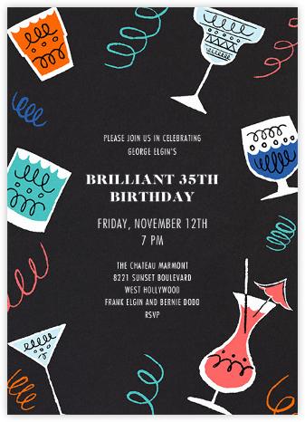 Happy Hour - Paperless Post - Birthday invitations
