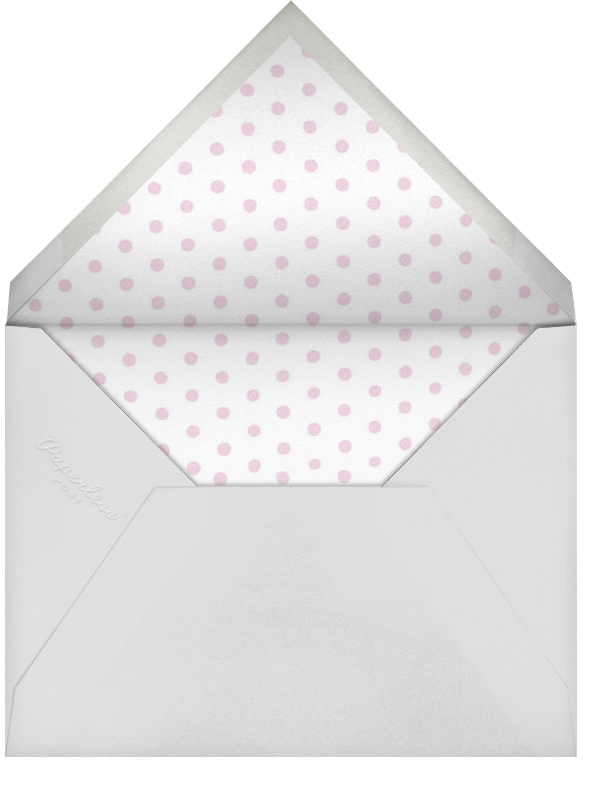 Pom Pom Birthday Hat - Blossom - Paperless Post - Adult birthday - envelope back