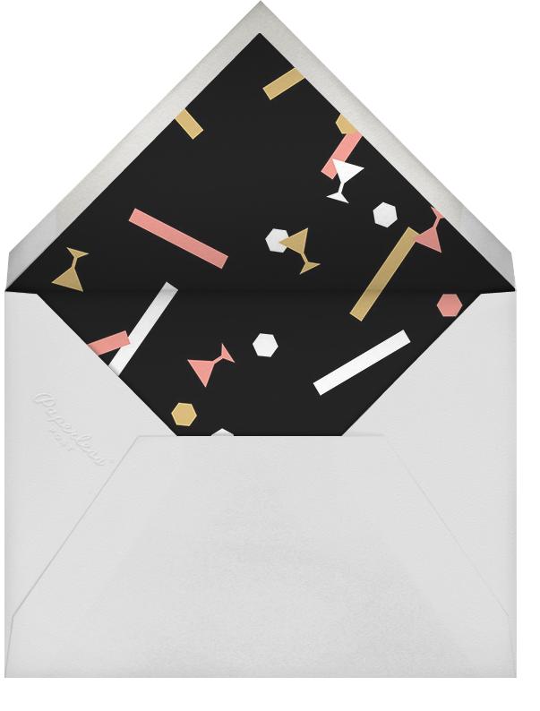 Confettitini - Paperless Post - Adult birthday - envelope back