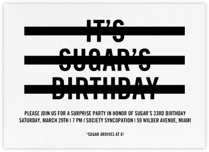 Redacted - Paperless Post - Adult Birthday Invitations
