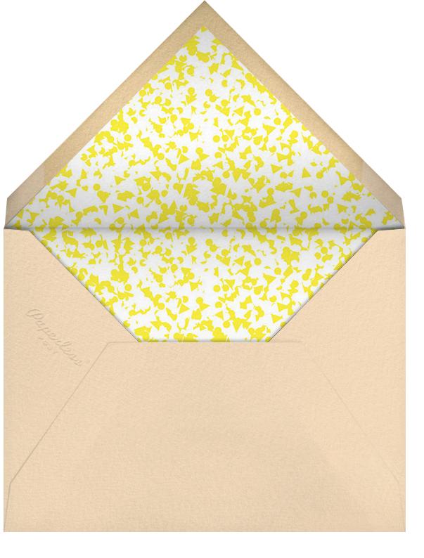 The Loudest Whisper - Yellow - Paperless Post - Adult birthday - envelope back