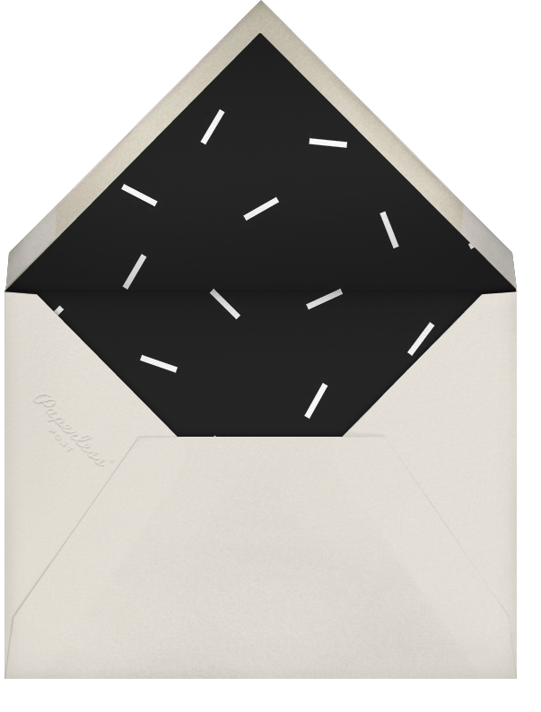 Champers - Paperless Post - Bachelorette party - envelope back
