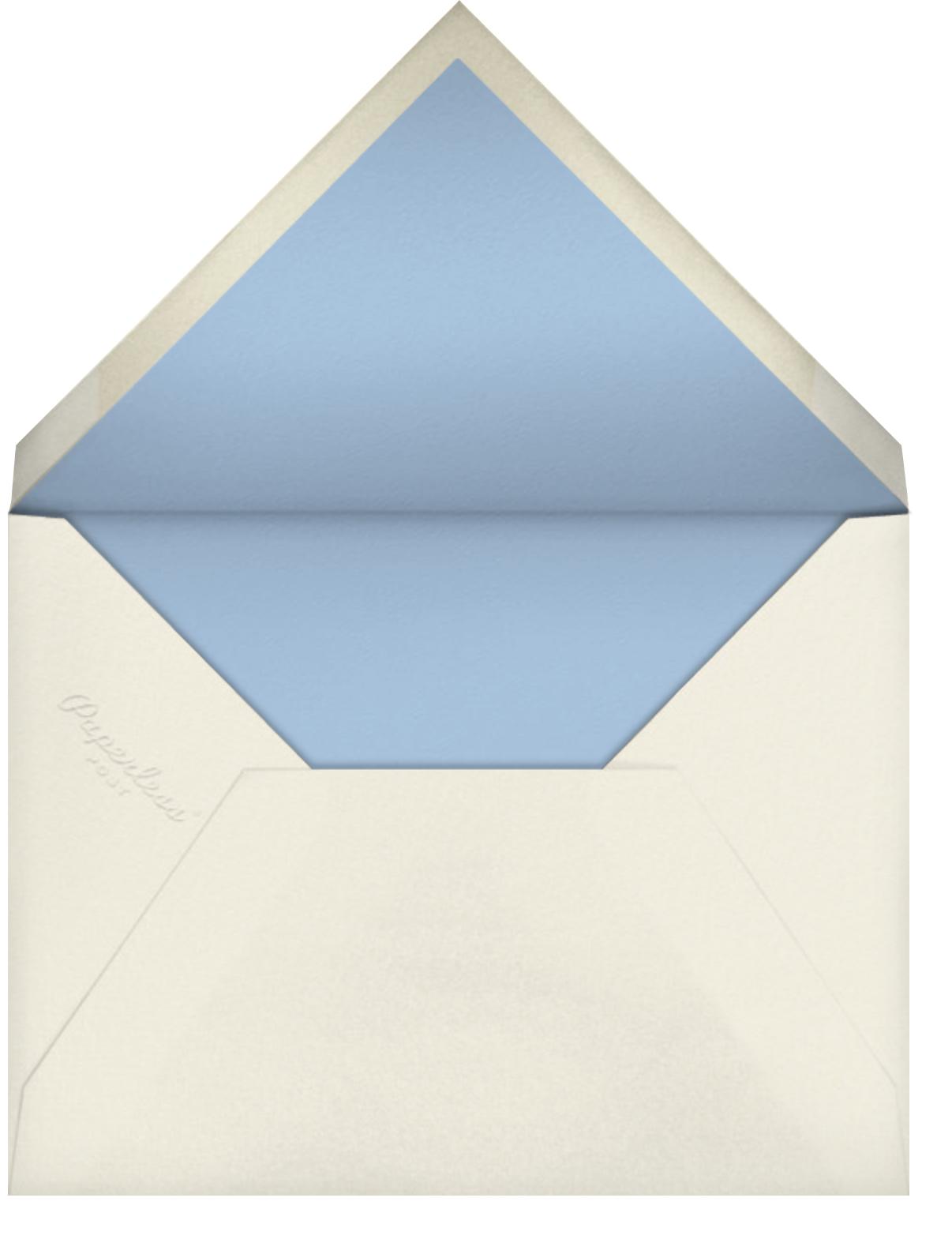 Carnaby (Photo) - Light Blue - Paperless Post - Envelope