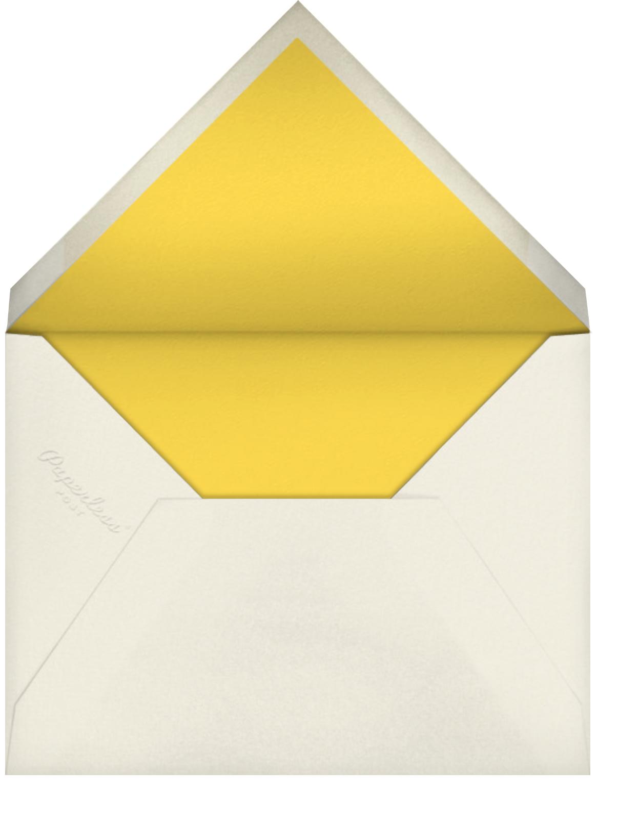Carnaby (Photo) - Yellow - Paperless Post - Envelope