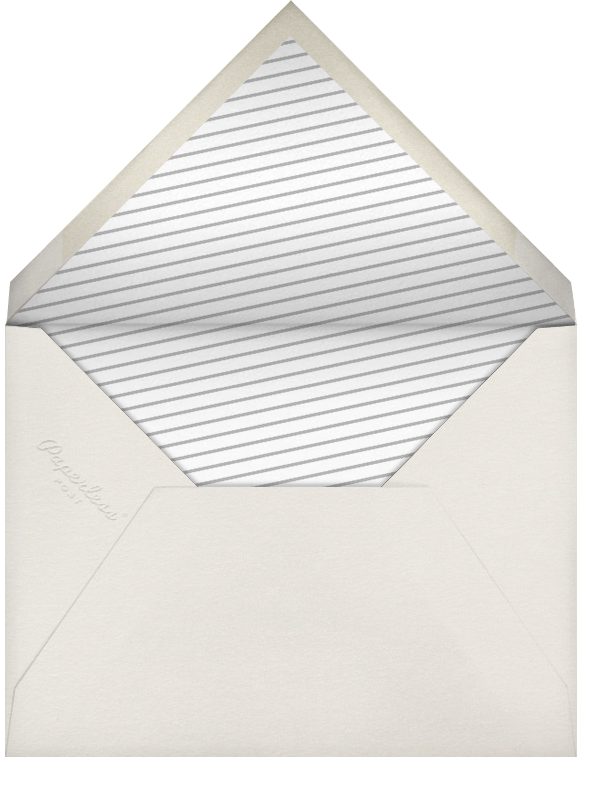 Champagne Bottle - Paperless Post - Retirement party - envelope back
