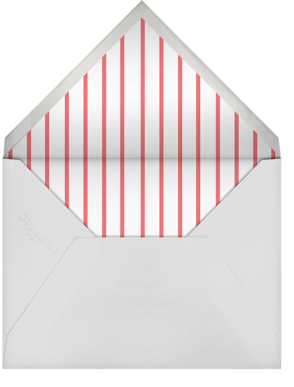 Brace Yourself - Black - Paperless Post - Adult birthday - envelope back