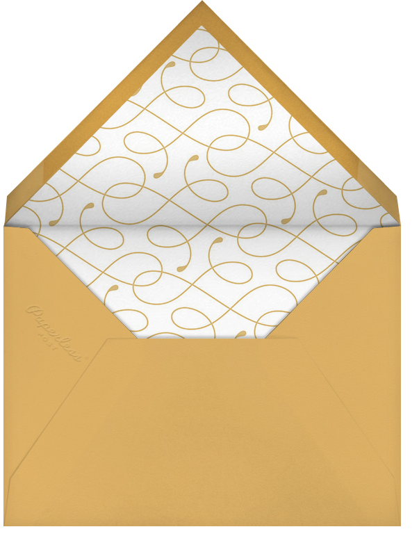 Pinstripe Numerals (Thirty) - Paperless Post - Milestone  - envelope back