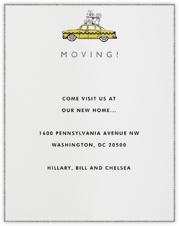 On The Move - Paperless Post - Moving announcements