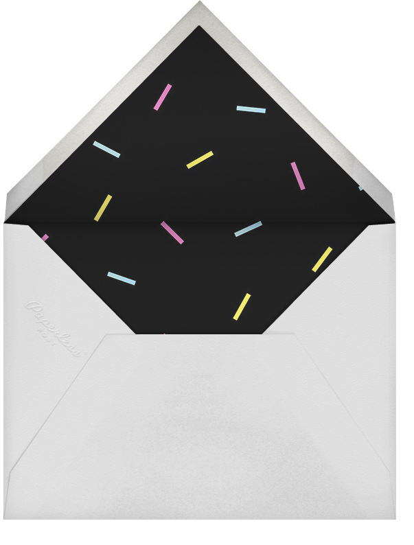 Milestone Portrait (Eighteen) - Celadon - Paperless Post - Envelope