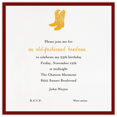 Warsaw - Paperless Post - Birthday invitations