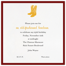 Theme Party Invitations Online At Paperless Post