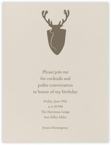 Santa Fe (Tall) - Paperless Post - Adult birthday invitations
