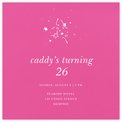 Barbie (Square) - Paperless Post - Adult birthday invitations