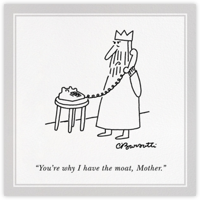 Moat - The New Yorker - Mother's Day Cards