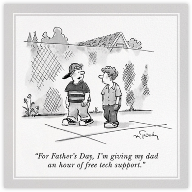 Father's Day - The New Yorker - Father's Day Cards