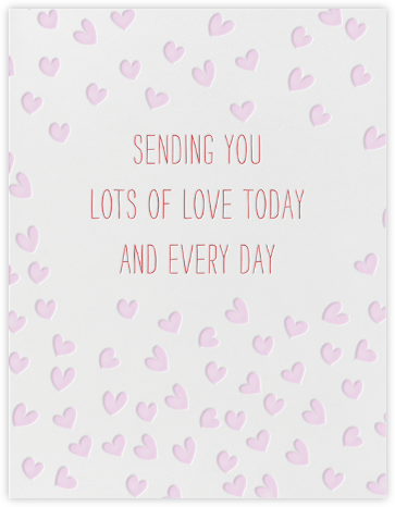 Sending Hearts - Linda and Harriett - Mother's Day Cards