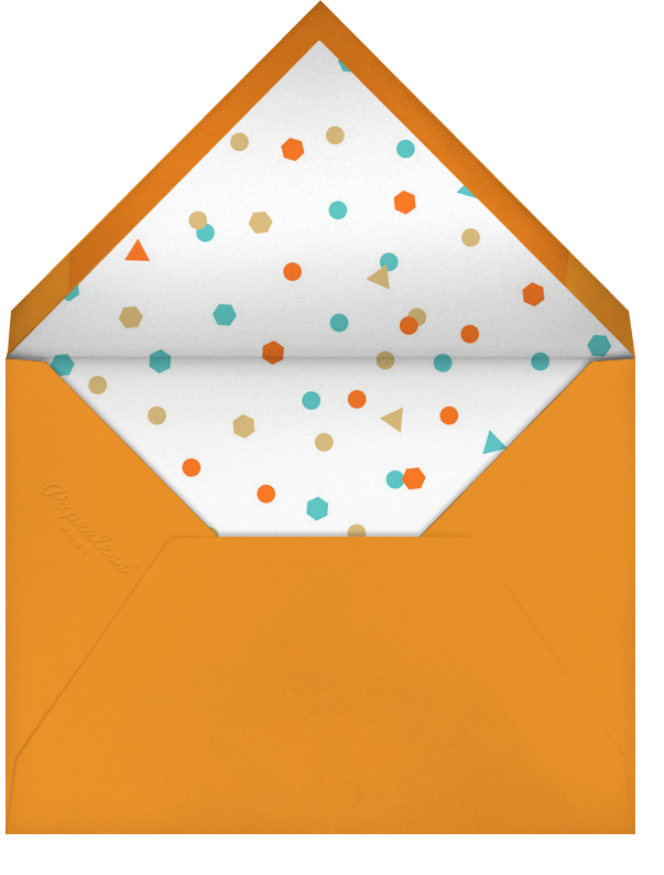 This Year is Shaping Up (Thirty) - Paperless Post - Milestone  - envelope back