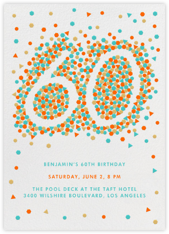 This Year is Shaping Up (Sixty) - Paperless Post - Milestone Birthday Invitations