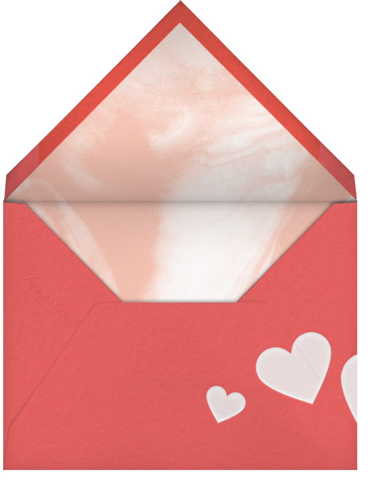Mother's Day Heart - Paperless Post - Mother's Day - envelope back
