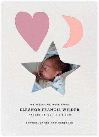 Our Little Star - Papaya - Linda and Harriett - Birth Announcements