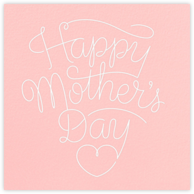 Letter to Mom - Pink - Paperless Post -