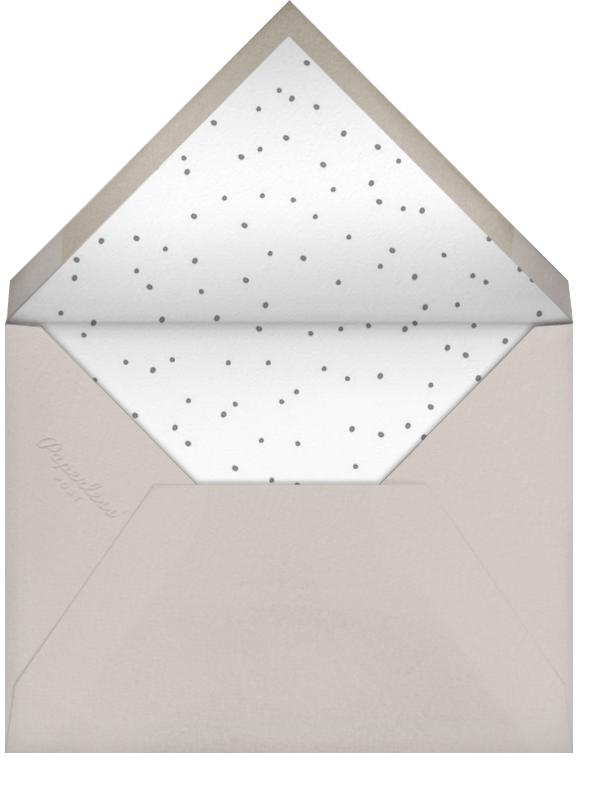 With Love From Baby (Tall) - Blue - Linda and Harriett - Birth - envelope back