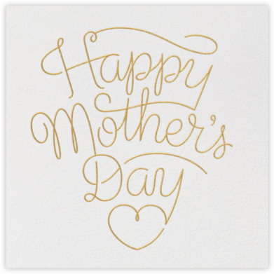 Letter to Mom - White - Paperless Post - Mother's day cards