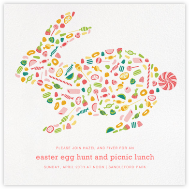 Candy Critter (Invite) - Paperless Post - Easter Invitations